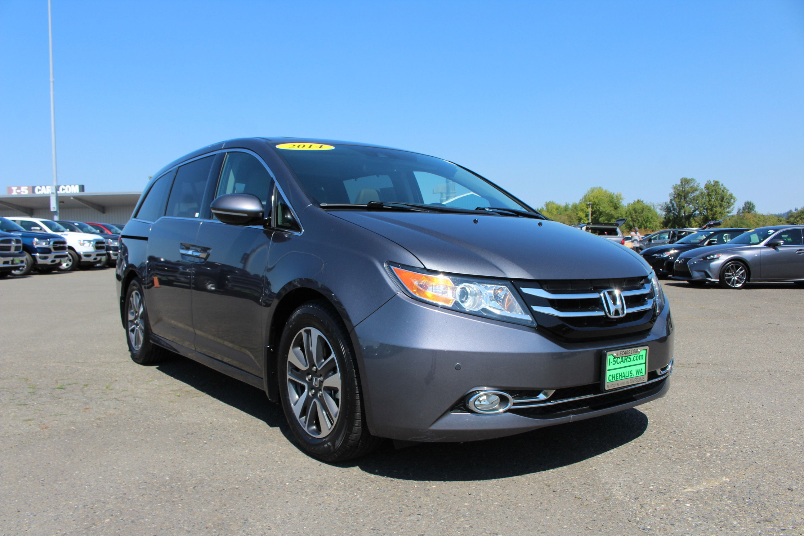 Pre Owned 2014 Honda Odyssey Touring Elite