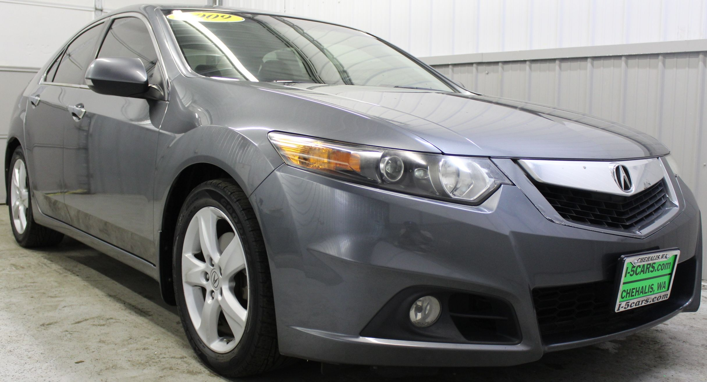 pre owned 2009 acura tsx base sedan in chehalis c1771a
